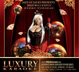 Luxury Karaoke at Jazz at Jack's